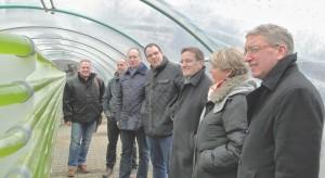v.lks.: Bernd Lipinski, Henning Wrigge, Axel Miesner, Michael Krohn, Ernst-Ingolf Angermann, Gudrun Pieper und Martin Bäumer